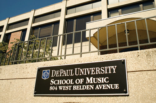 at depaul school of music you