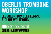 Oberlin trombone summer