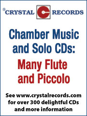 Crystal Records Flute